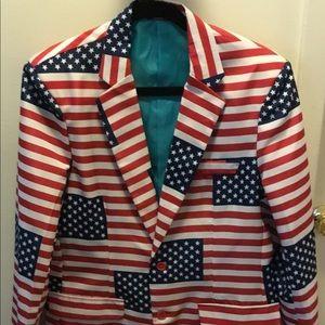 Patriotic blazer